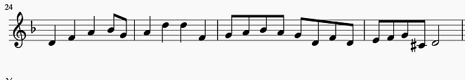 D Minor solfege.png
