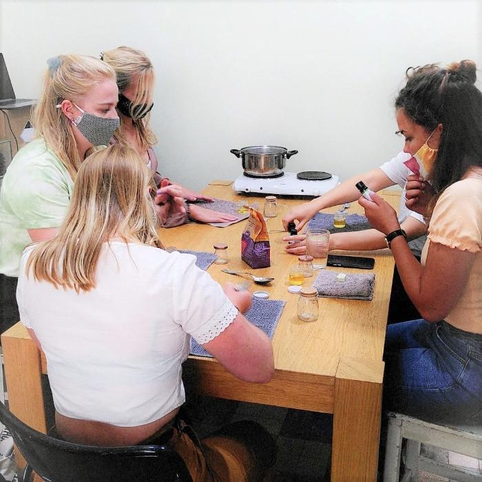 DIY zero-waste workshops teambuildings Antwerpen De Groene Stadshut Belgie