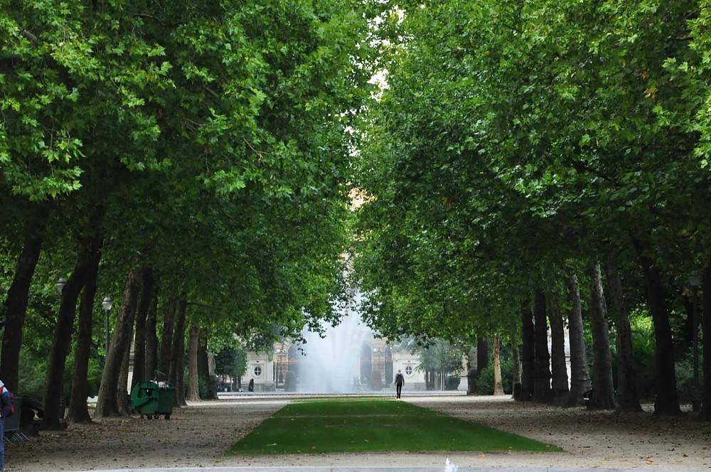 Parc de Bruxelles, Brussels, Mixua