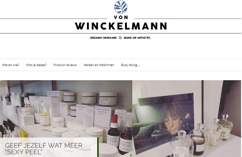 Eva Winckelmann organic skincare blog, Miuxua, conscious lifestyle