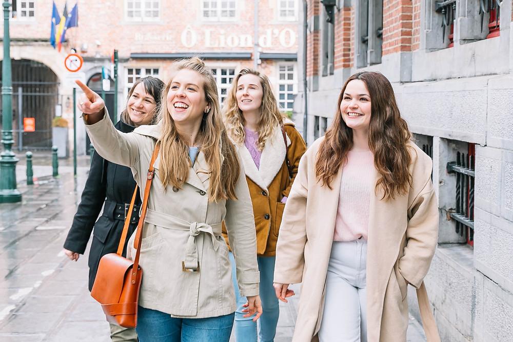Teambuilding of leuke middag op ontdekking naar duurzame en ecologische mode in Gent, Brussel, Antwerpen. Ook Brugge, Leuven en Mechelen.