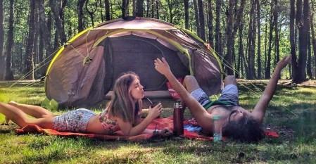 camping, summer, conscious lifestyle, green lifestyle, nature, Miuxua