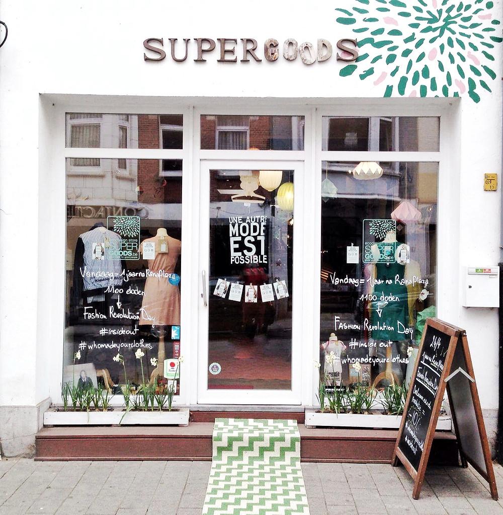 Supergoods, Mechelen, ethical fashion, organic skincare, sustainable goods, Miuxua