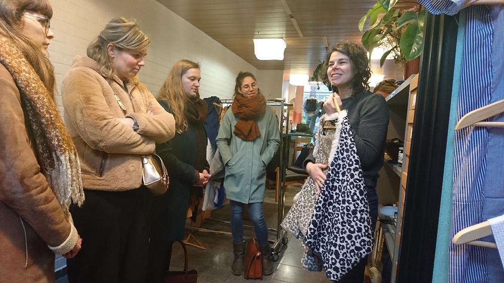 Ontdek eerlijke en duurzame mode op Eco Tour Mixua in Gent, Brussel en Antwerpen.