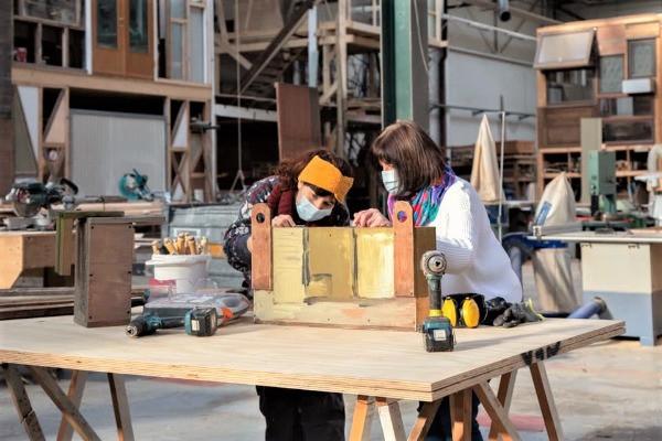 zero-waste workshops teambuildings antwerpen hout Hou'tHart