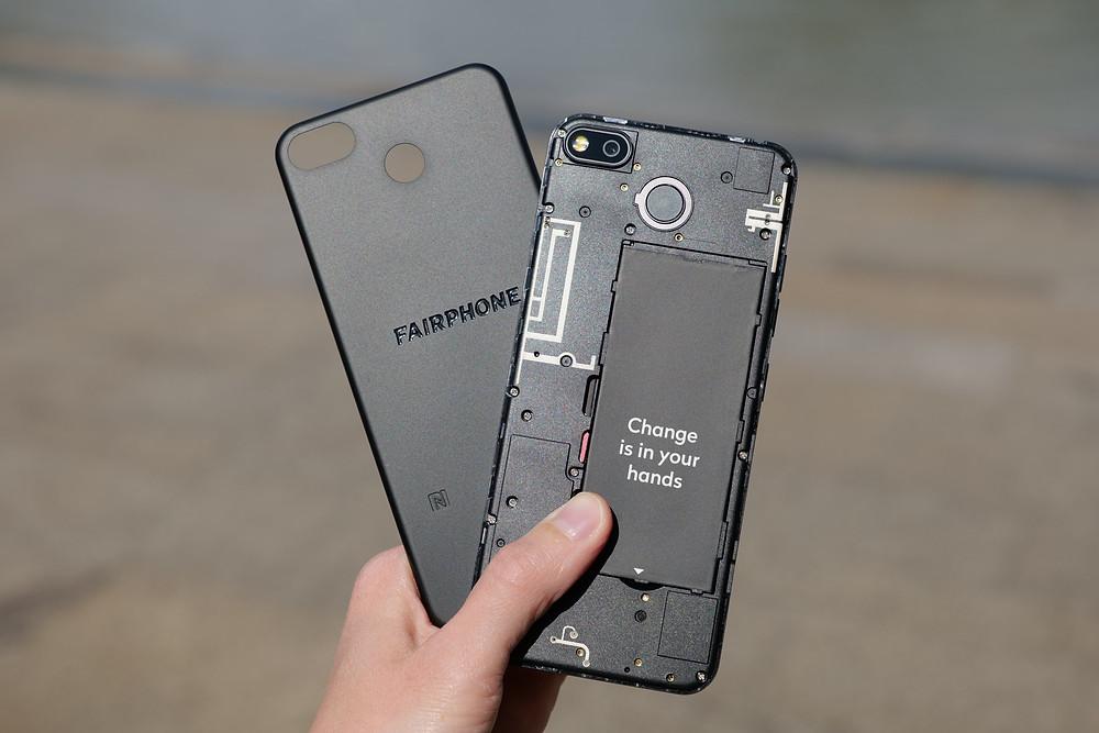 ecovriendelijke telefoon en smartphone