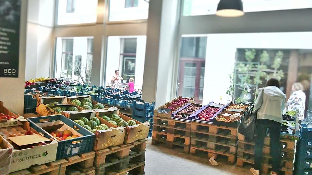 Be O Market, Gent, Ghent, zero waste shop, Miuxua