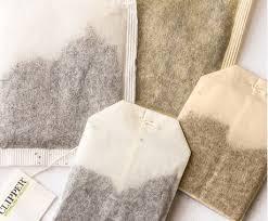 bleached tea bag vs. non-bleached tea bags, Miuxua