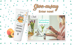 CÎME, giveaway, give-away, Miuxua, organic skincare, natural skincare, fairtrade, eco, fair