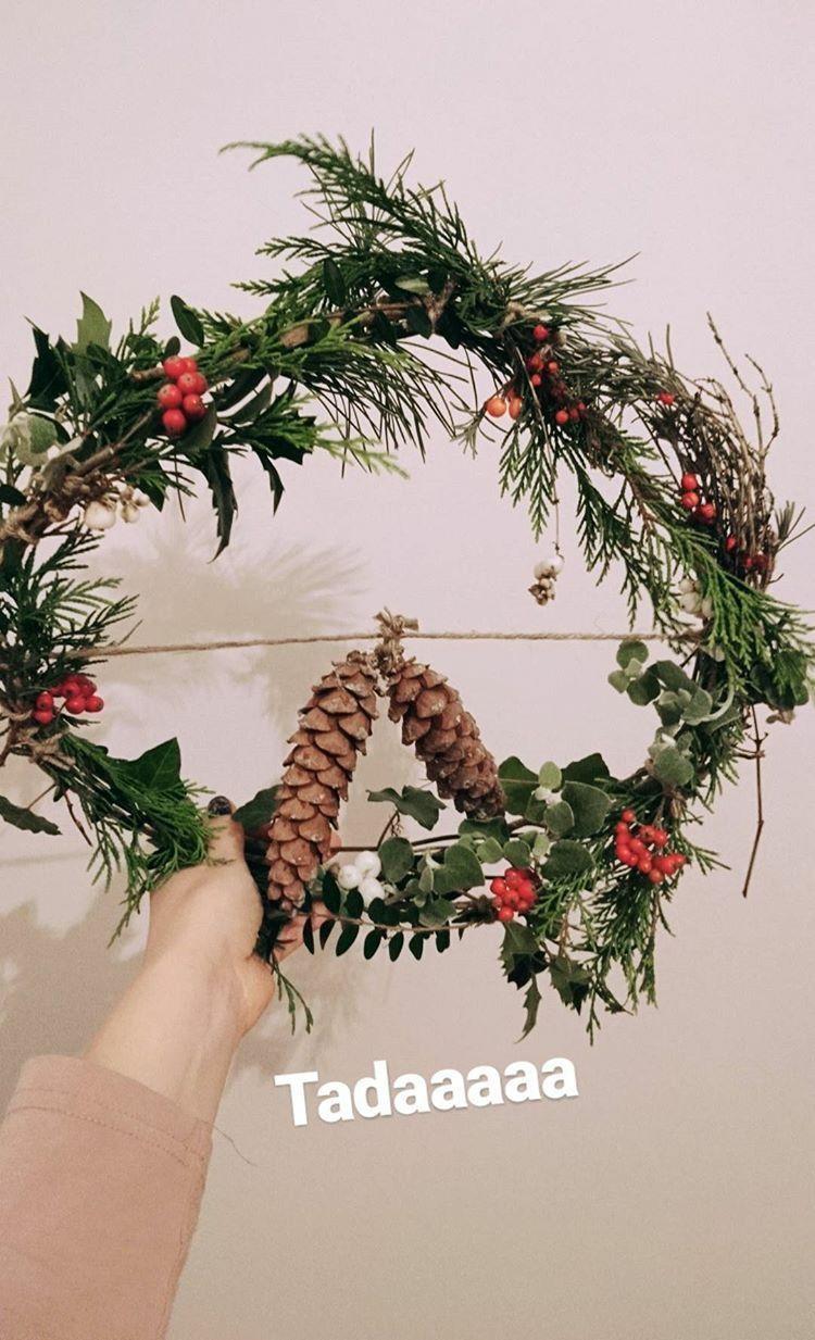 DIY New Years Eve decoration, nature arrangement, New Years Eve, Miuxua