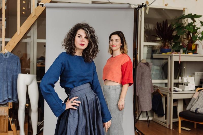 Belgische, duurzame kledingmerken Studio Ama Gent circulaire mode