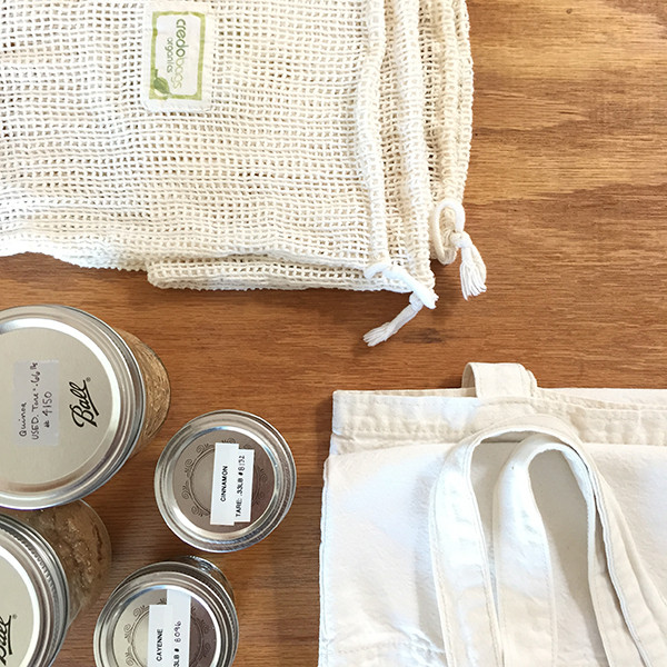 zero waste shopping materials, Miuxua