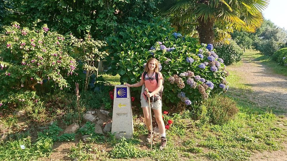 Travelling, sharing with locals, Camino de Santiago, Miuxua