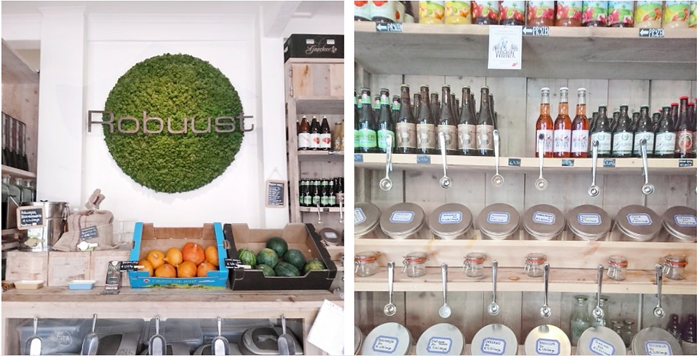 zero waste shop Robuust in Antwerp, Antwerpen, Miuxua