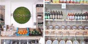 zero waste shop Robuust in Antwerp, Antwerpen, Miuxua