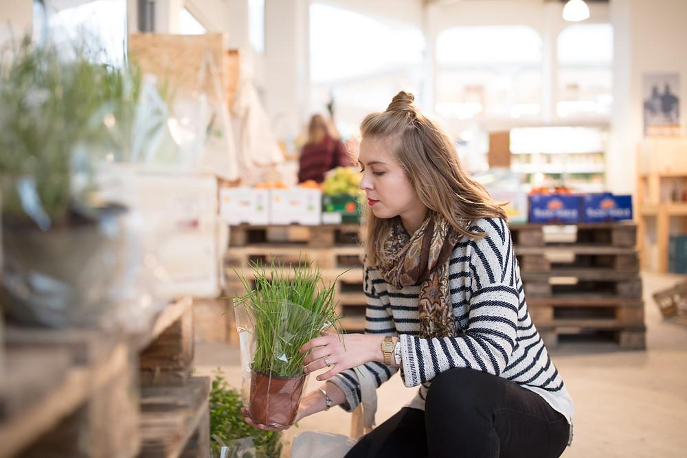 bio, lokaal, fairtrade, zero-waste groenten en fruit, Mixua, Gent