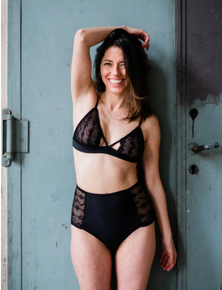 circulaire mode upcycling gerecycleerde stoffen lingerie
