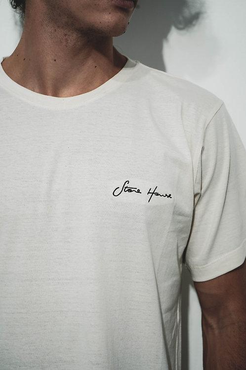 T-Shirt Stone House Algodão Orgânico