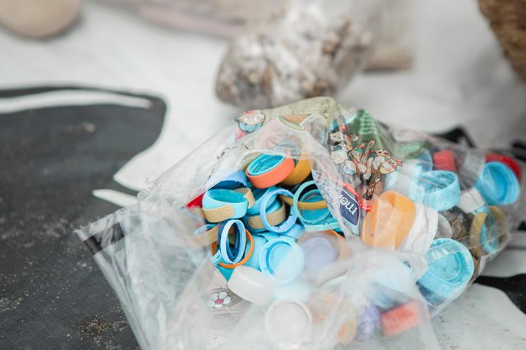 Lixo coletado