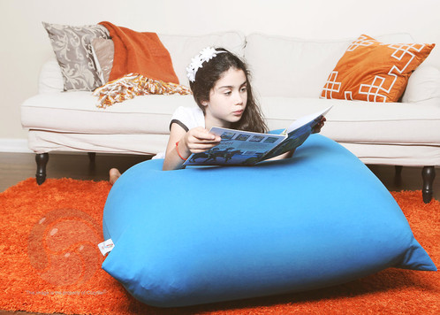 With CozyPouf Bean Bag You Can Sit Upright Or Lie Back