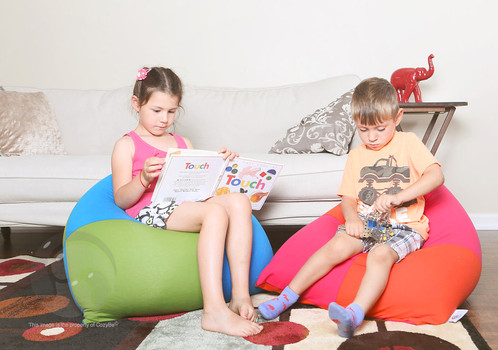 MiniCozy Is A Uniquely Pyramid Shaped Bean Bag Chair For Kids It Perfect Playing Video Games Watching Movies Or Just Relaxing