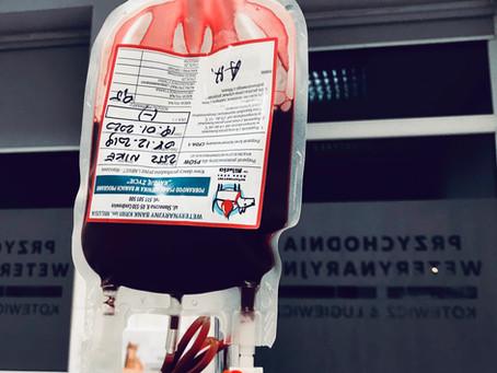 Transfuzje krwi, które ratują życie