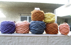 My country-made wool in the city