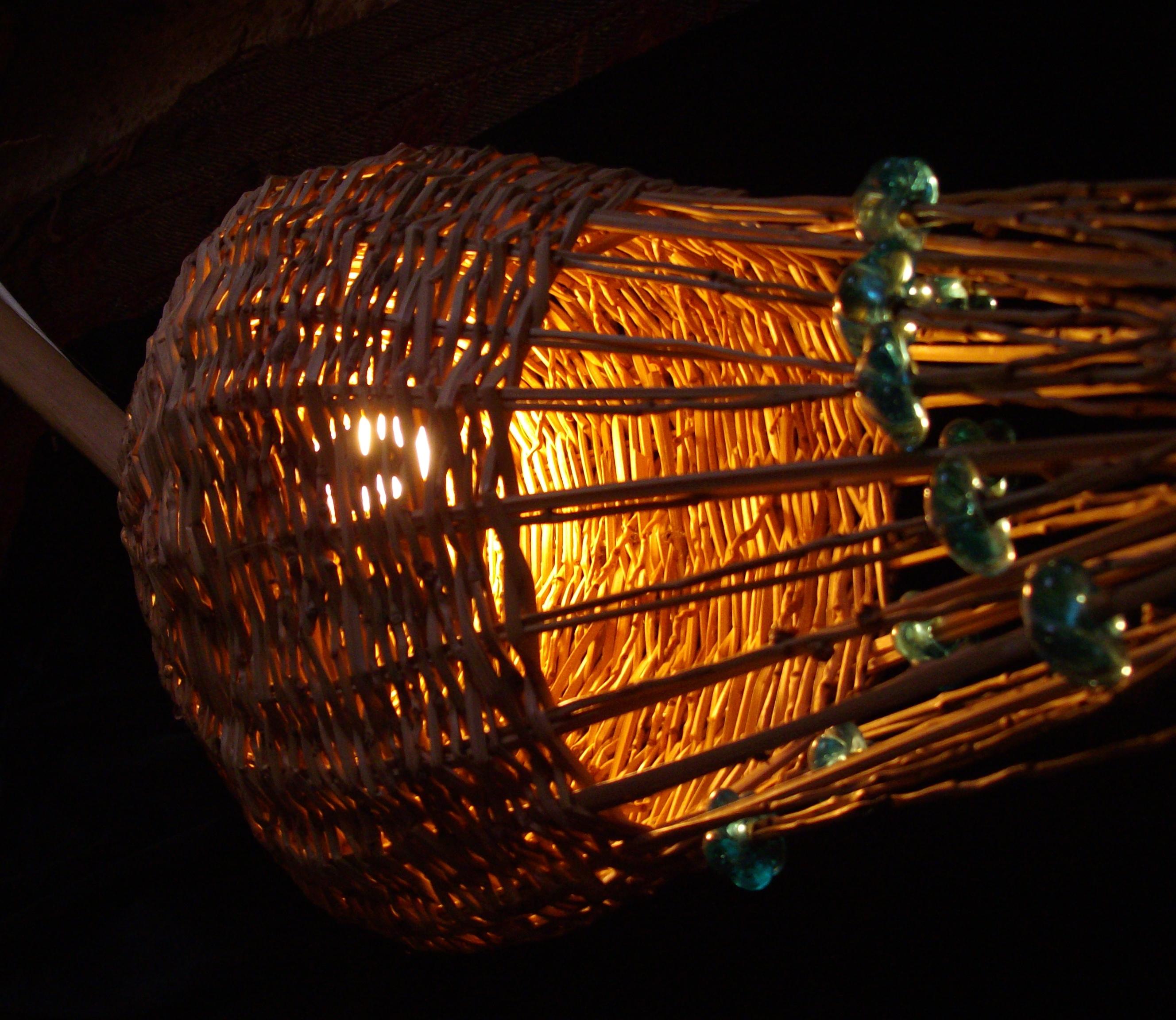 Spiraling lights