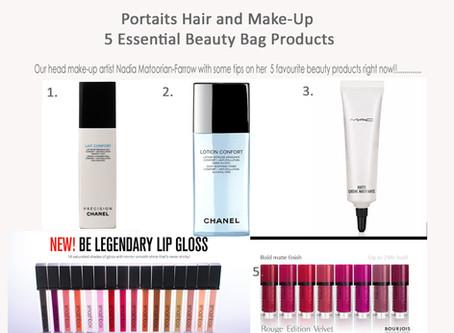 Take a peek inside our head make-up artist, Nadia's, make-up bag!