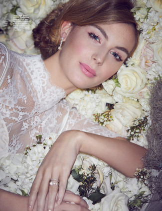 You & Your Wedding Magazine Lace Editorial