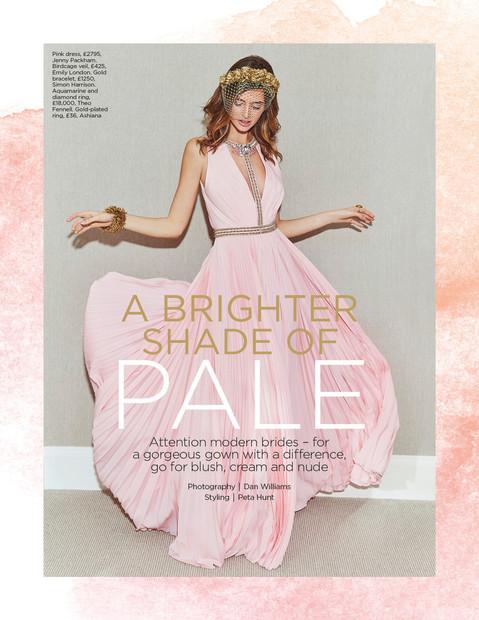 You & Your Wedding Magazine Colour Editorial