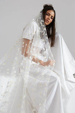Ann-Marie Faulkner modern wedding veils