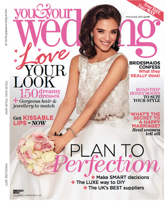 You & Your Wedding Magazine Cover & Editorial