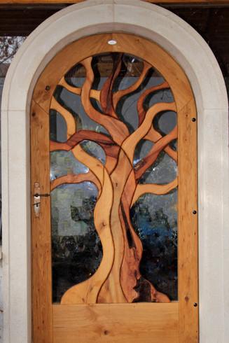 Lebens- Baumtür