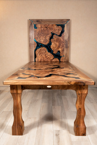 Oliven Kunstharz Tisch