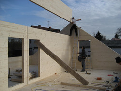 Dachgeschoss Montage