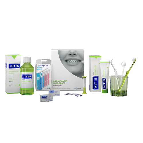 Vitis Fixed Brace Oral Care Pack