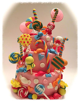 Amazing Candy Birthday cake, sussex cakes