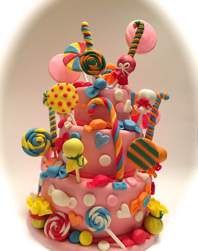 Candy Celebration Cake Sussex