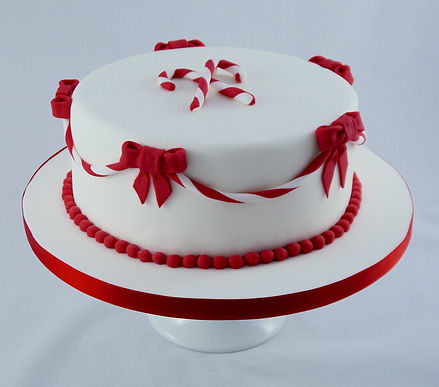 Candy Cake Christmas Cake Sussex