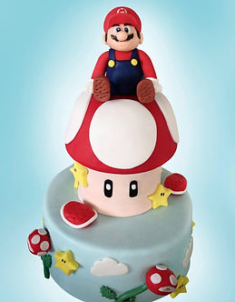 Super Mario Birthday Cake, Sussex Birthday Cakes