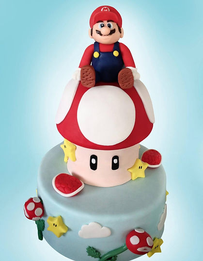 Super Mario Celebration Cake Sussex