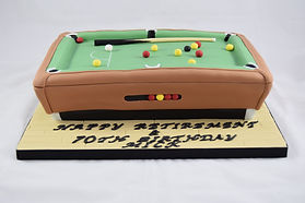 Pool Table Cake Sussex