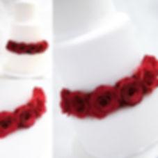 Fresh Flower Wedding Cake Sussex