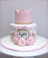 Princess Crown Birthday Cake Sussex