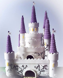Castle Cake, Brighton Birthday cakes