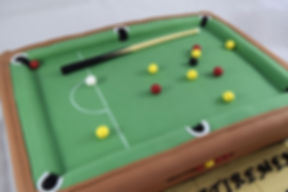 Pool Table Celebration Cake Sussex