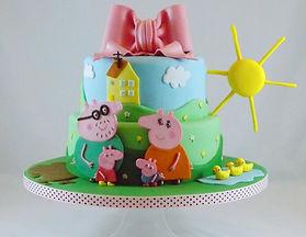 Peppa Pig Birthday Cake, Cake Designer Brighton