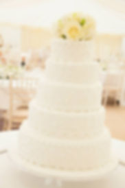 White wedding cake, Sussex Surrey London Wedding Cake
