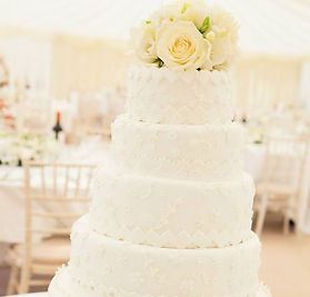 White wedding cake, Brighton Sussex Wedding Cake